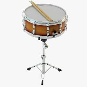 3ds max snare drum