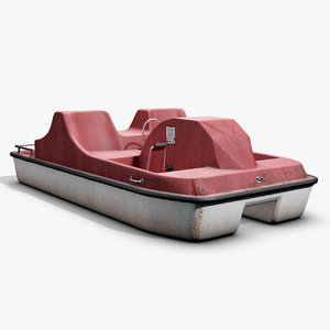 3d paddle boat