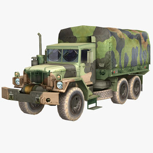 military truck green camouflage 3d max