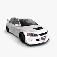mitsubishi evolution 9 widebody 3ds