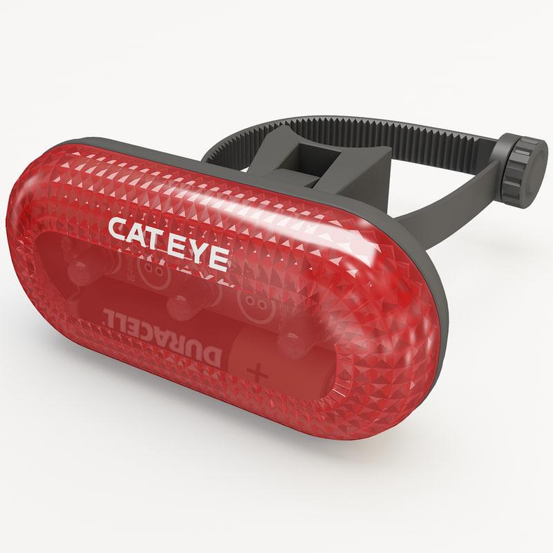 3ds bicycle flashlight cateye