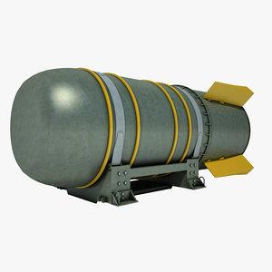 hydrogen bomb 3d model