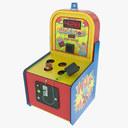 Amusement Park Game 3D models