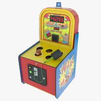 max whack mole arcade