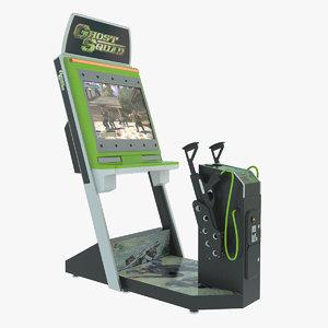 3d shooter arcade