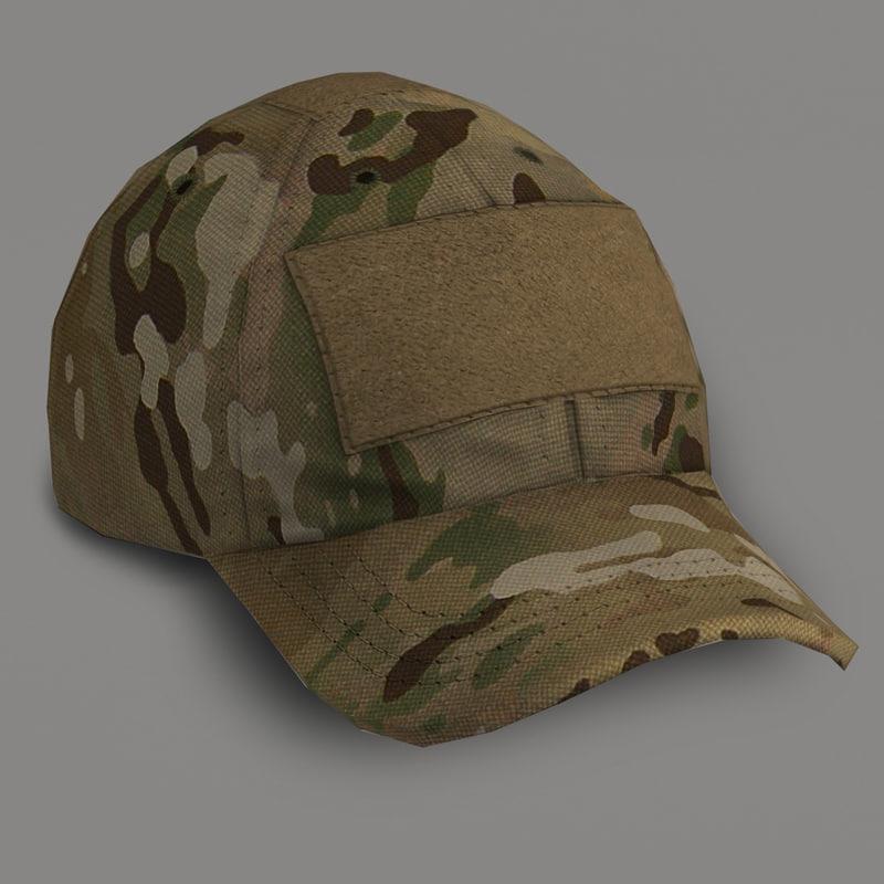 3d shooter s cap - model