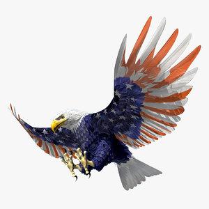 stars eagle 3d max