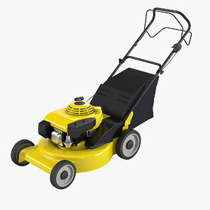 3d professional lawn mower