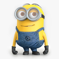 3d model minion character despicable