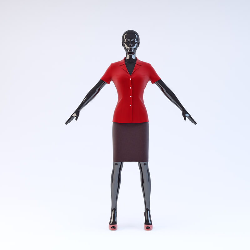 3d showroom mannequin 11