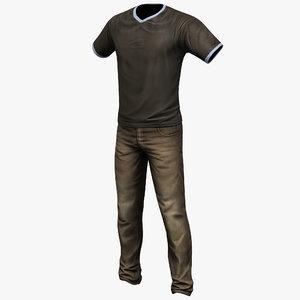 man clothes 2 3ds
