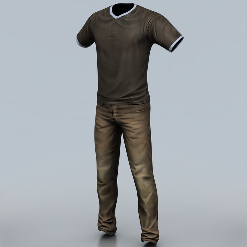 man clothes 2 3ds