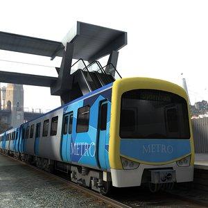 metro train interior max