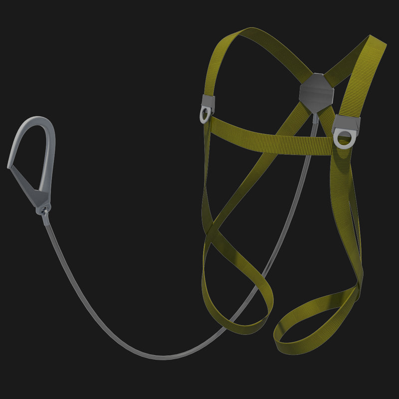 3d model of harness