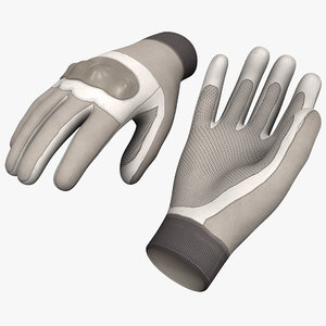 3ds max futuristic soldier gloves