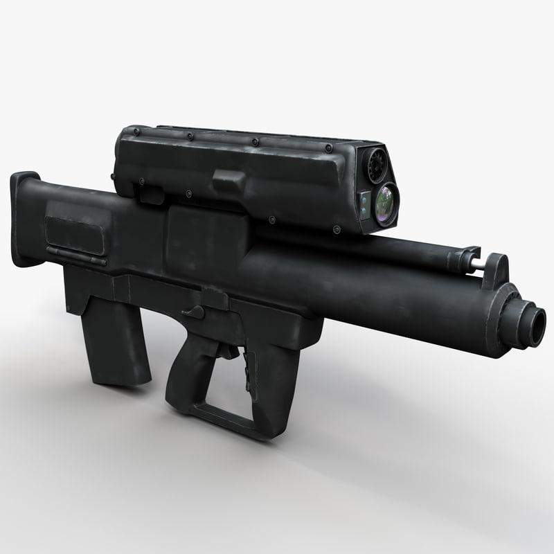 3d grenade launcher xm25