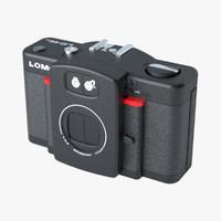 3dsmax camera lomo lc-wide