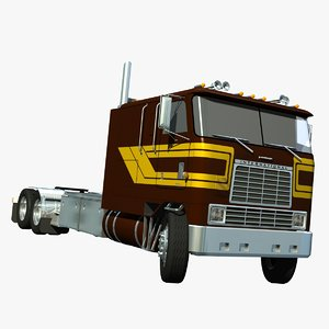 lightwave international 9670 cabover truck