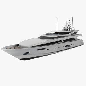 dominator yachts 40m vellmari 3d model
