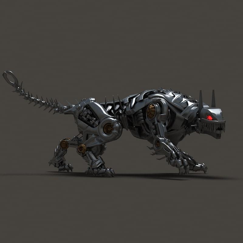 3d iron tiger model
