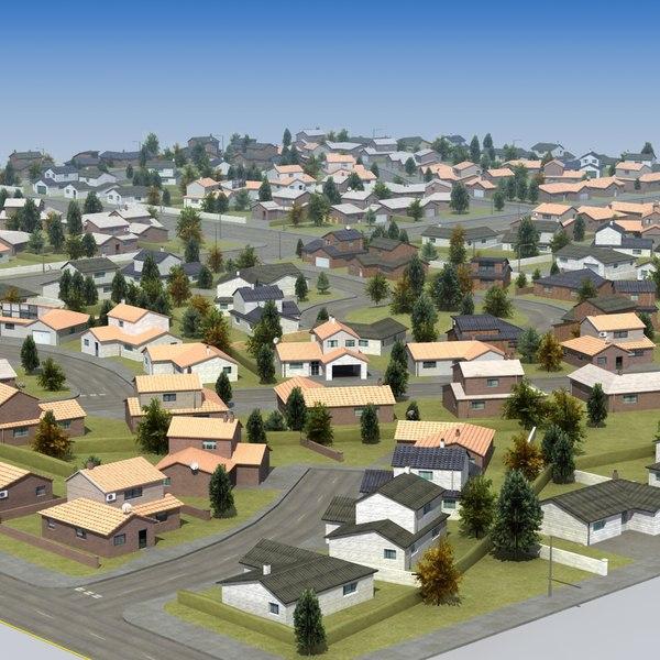 housing development rt 3d model
