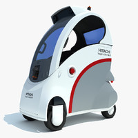 hitachi ropits robot car 3ds