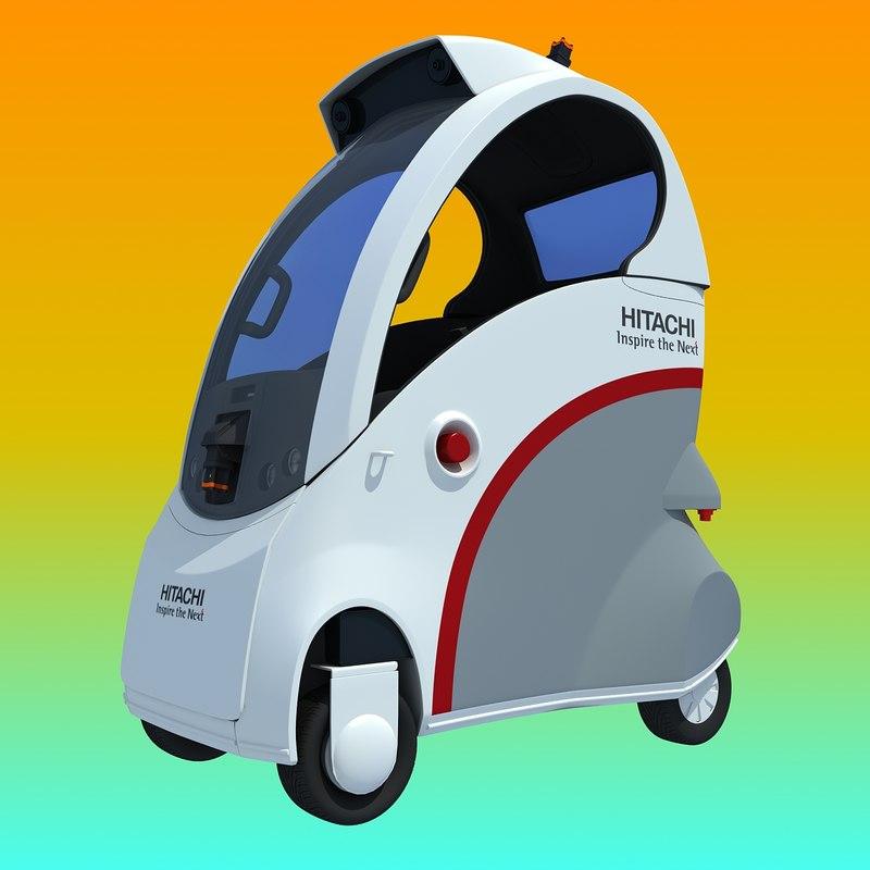 hitachi ropits robot car 3ds