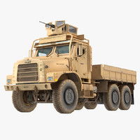 Military Cargo Truck Oshkosh MTVR
