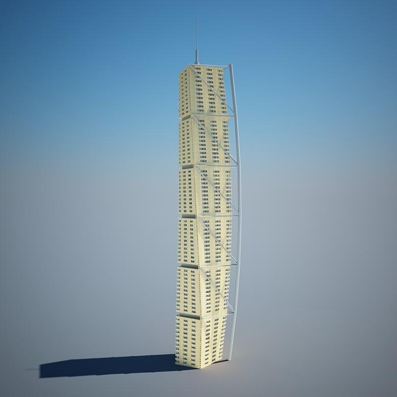 3d architectural scene