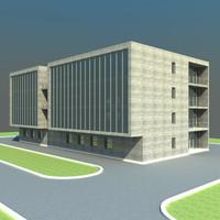s modern office building