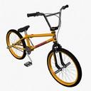 BMX bike 3D models
