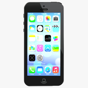 iphone 5 3d fbx