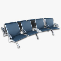 3d airport seating