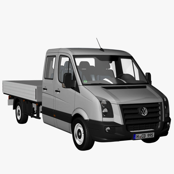 crafter pickup truck 2009 3d 3ds