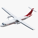ATR 72 3D models
