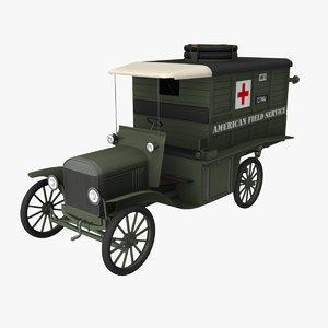 ww1 american ambulance max