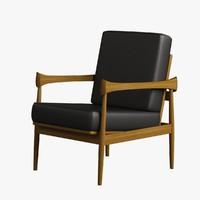 Armchair Wooden 007