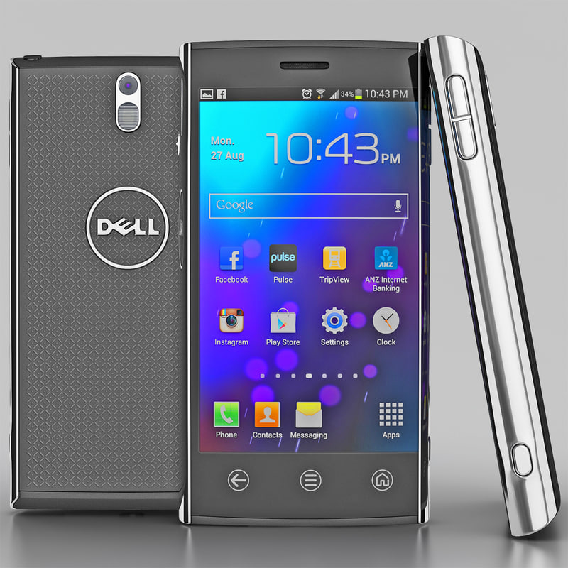 3d model of dell venue