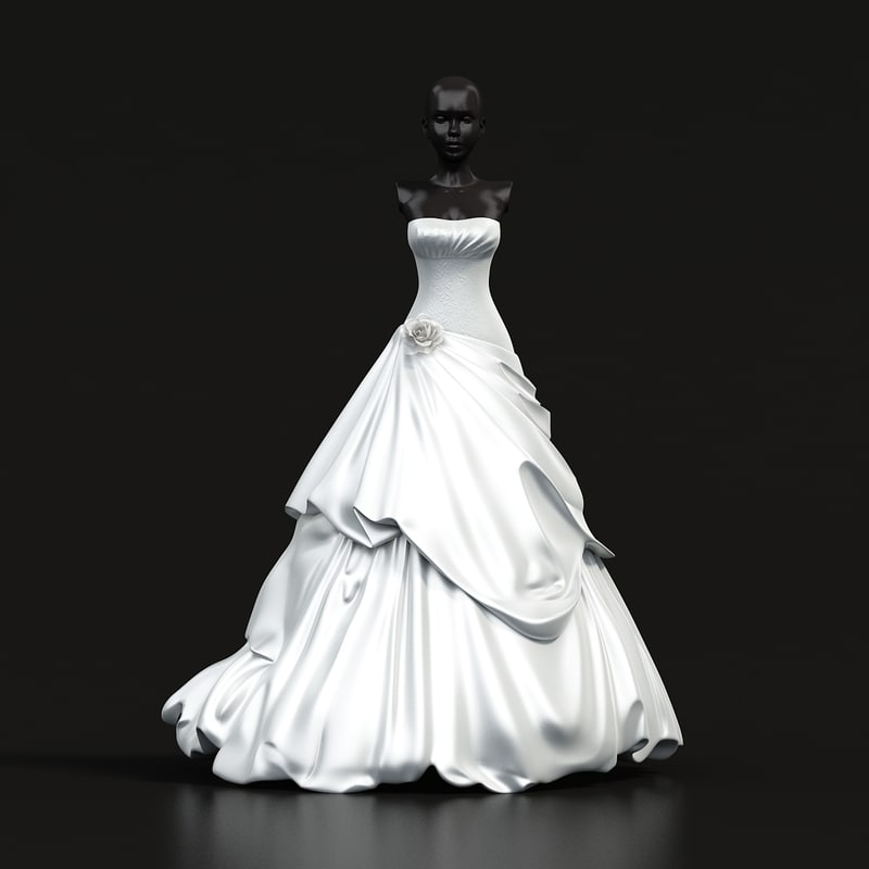 s max wedding dress