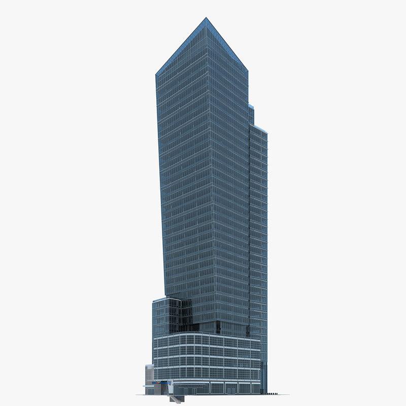 11 square building 3d 3ds