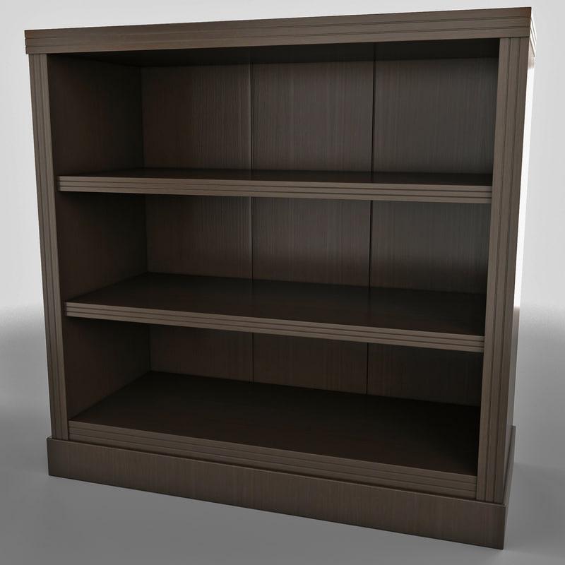 book case 3-shelf shelf max