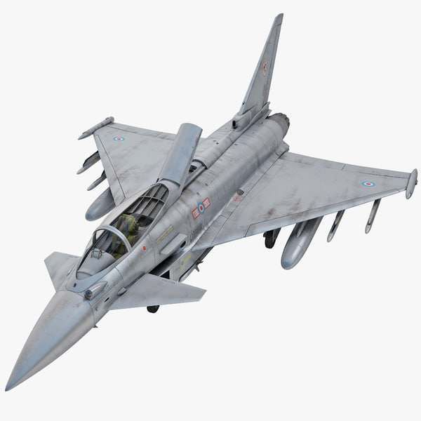 3d eurofighter typhoon ef2000 2