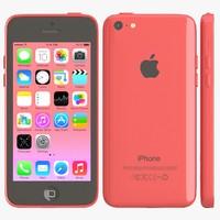 3d apple iphone 5c pink