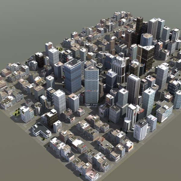 downtown city blocks max