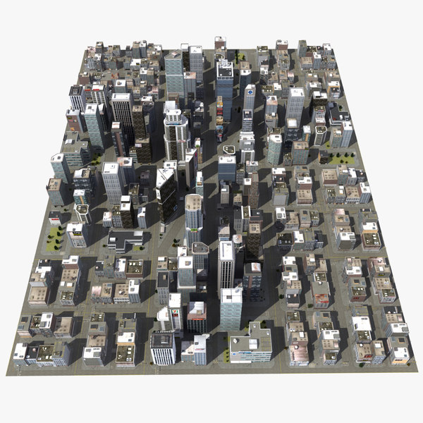 downtown city blocks max