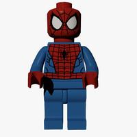 3d model lego figure