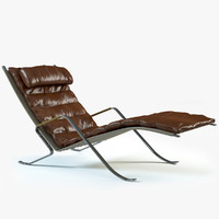 FK 87 Grasshopper Loungechair