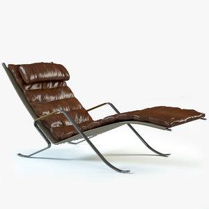 fk 87 loungechair 3d max