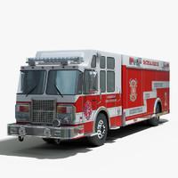 3dsmax intervention rescue truck
