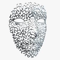 ornamental face mask